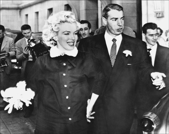 Although their marriage did not last, Marilyn Monroe's ex-husband Joe DiMaggio was so distraught when his wife of nine months died, that he had a fresh bunch of roses delivered to her grave once a week until his death in 1999.