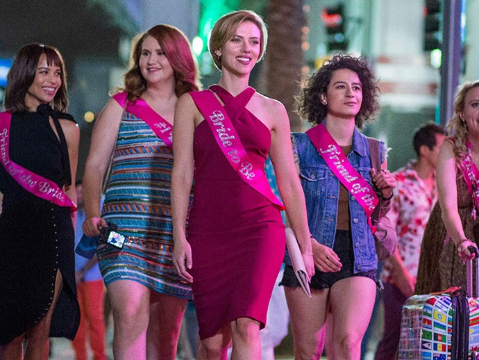 Watch Scarlett Johansson and her squad kill a stripper in the NSFW 'Rough Night' trailer
