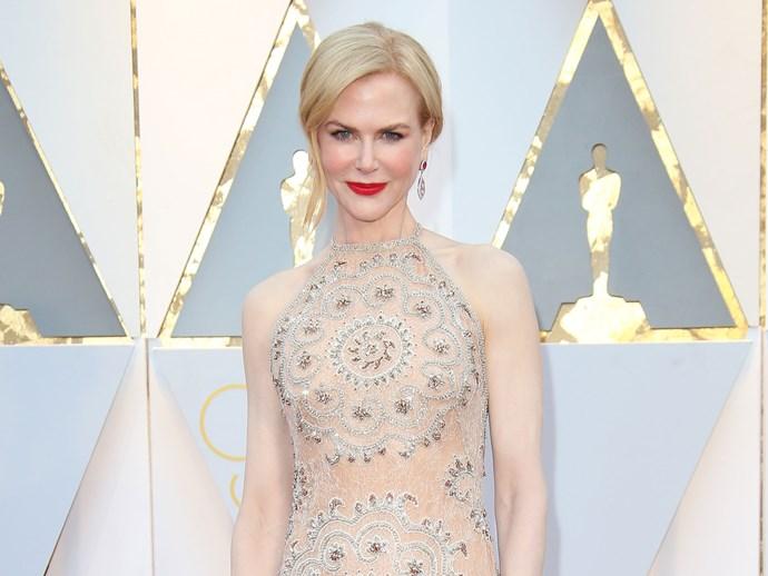 Nicole Kidman Oscars clapping