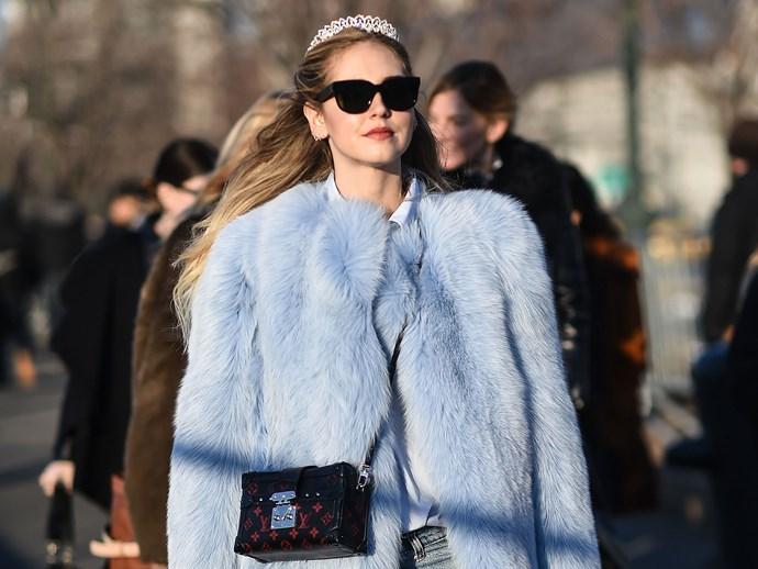 tiara fashion week