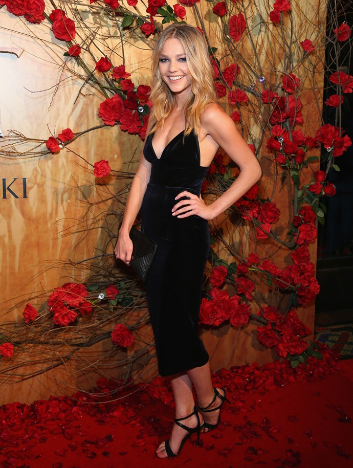 Sam Frost.