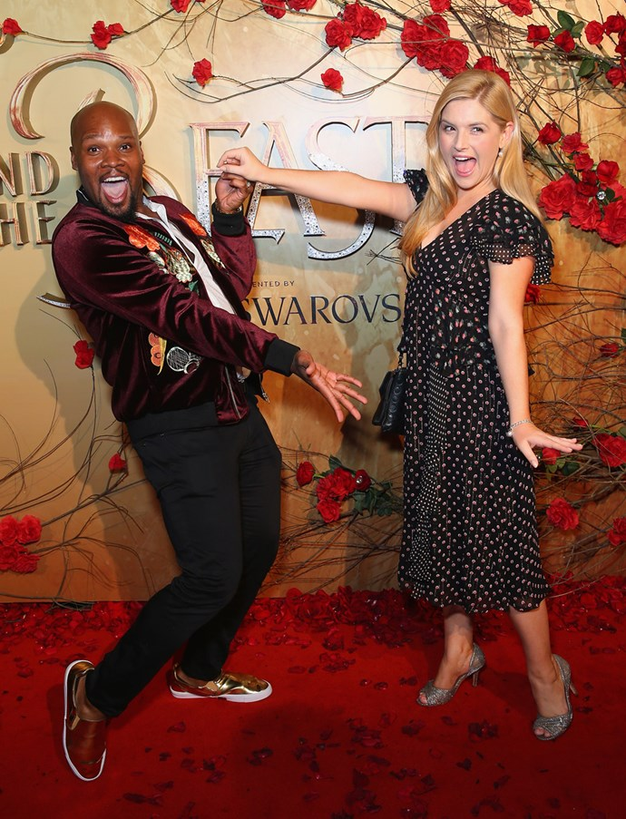 Michael James Scott and Lucy Durack.