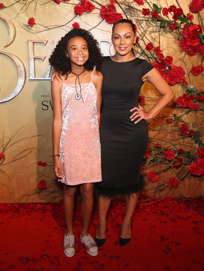 Prinnie Stevens and her daughter.