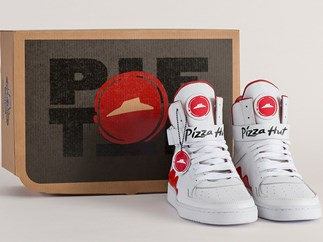 pizza hut sneakers can order pizza