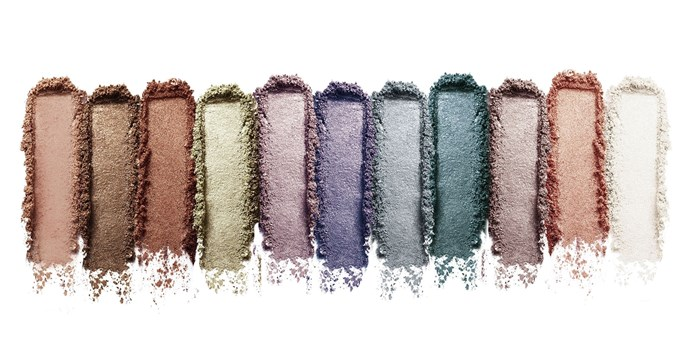 Another look at the swatches of the luminous shadows: