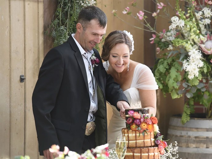 Married at First Sight Susan Sean wedding