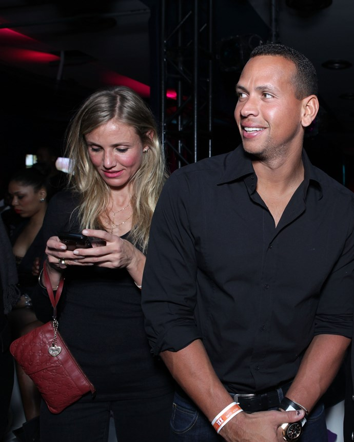 From 2010 to 2011, Cameron Diaz and A-Rod were a thing.