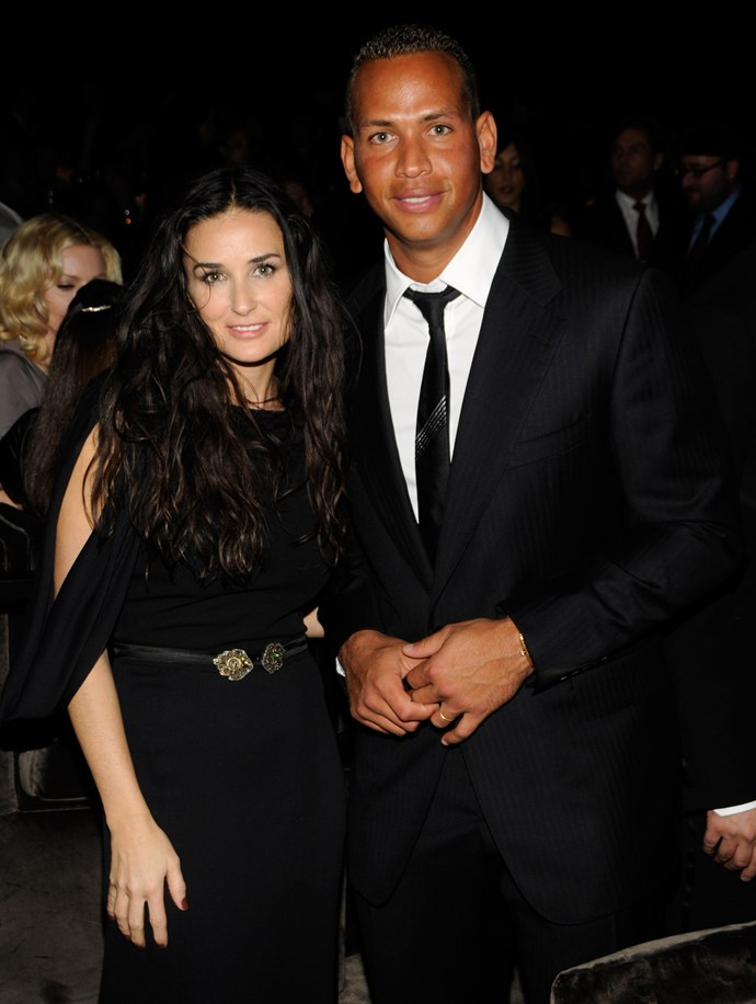 Come 2012, and A-Rod was linked to Demi Moore after the two were spotted on a date.