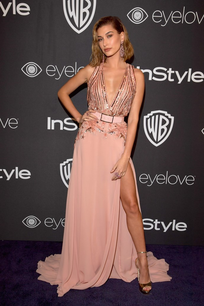 """**Hailey Baldwin revealed to [*The Times*](http://www.thetimes.co.uk/magazine/the-times-magazine/i-selfie-therefore-i-am-5bjqzjlp6) magazine that the hate she receives on social media causes her to feel """"depressed and anxious"""" and said:** """"Sometimes I feel it's too much. If I could have kept off it longer [her social media hiatus], I would have but I had to post things for work. From the moment I turned it off to the day I turned it back on, I was free.  """"It definitely does something to the soul. There are times when I feel depressed or anxious and a big part of it comes from that. If we didn't have social media, we'd have a weight lifted off our shoulders,"""" she told the magazine."""