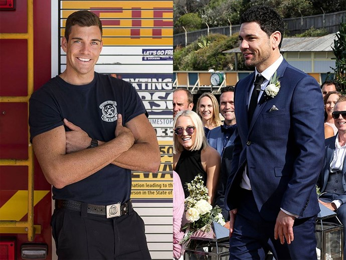 Cam from The Bachelorette and Andrew from Married at First Sight