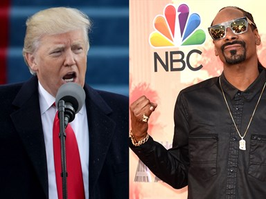 Donald Trump is feuding with Snoop Dogg