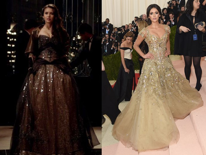 Whether it's the Mikaelson's Ball or the Met Gala, errybody knows you can't go wrong with an embellished princess dress <33.