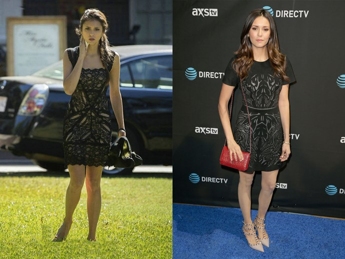 The detailed LBD, perfect for hanging out in Mystic Falls AND hitting up media events -who knew?