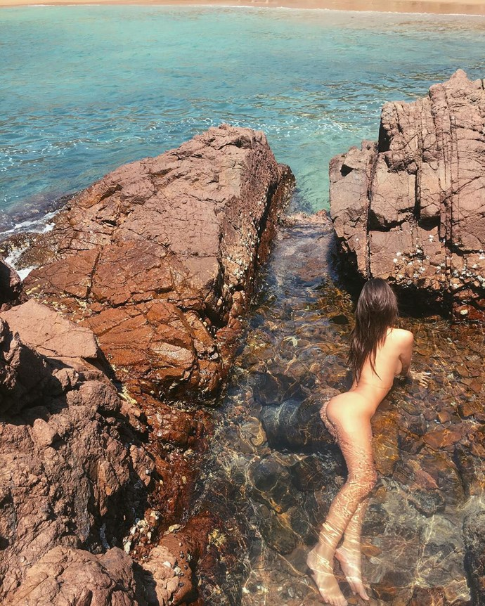 When Emily Ratajkowski went completely nude for a swim in this pool on her Mexican holiday.