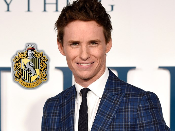"*Fantastic Beasts and Where to Find Them* actor **Eddie Redmayne** is a passionate Hufflepuff! He even filmed a Hufflepuff defence video, saying, ""For far too long now, Hufflepuffs have been victimised,"" Eddie says in the clip while looking like he is going to cry. ""They call us boring. They call us beige. They say we're the nice guys. But you know what? You know what I see in Hufflepuffs? I see loyalty. I see fierce friendship. We are hardworking, we are compassionate, and at the end of the day, we're going to do the right thing, and not because of the glory. Not because of the glory, but for the greater good."""
