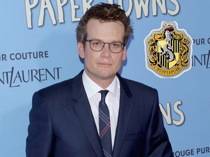 *The Fault in Our Stars* author **John Green** has revealed he is a Hufflepuff.
