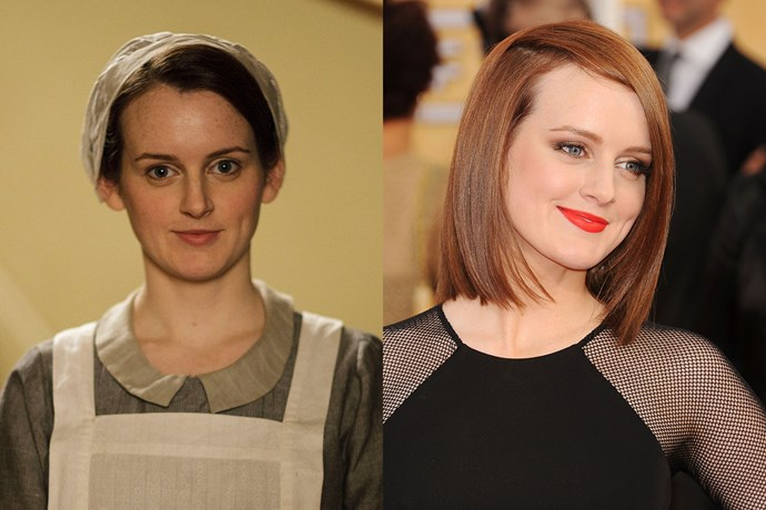 Sophie McShera, who played kitchen maid Daisy on *Downton Abbey*, didn't exactly get to look glamorous on the show.