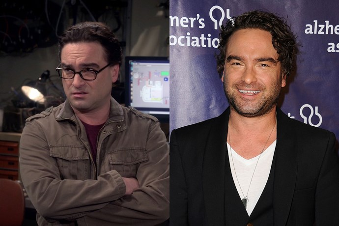 Sometimes even the smallest things, like wardrobe and glasses, can make all the difference, as proven by *The Big Bang Theory*'s Johnny Galecki, who plays Leonard.
