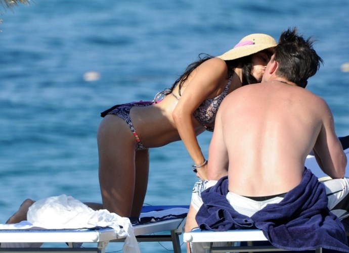 **July 2010**  Jenna and Channing are papped on holiday in Italy with friends.