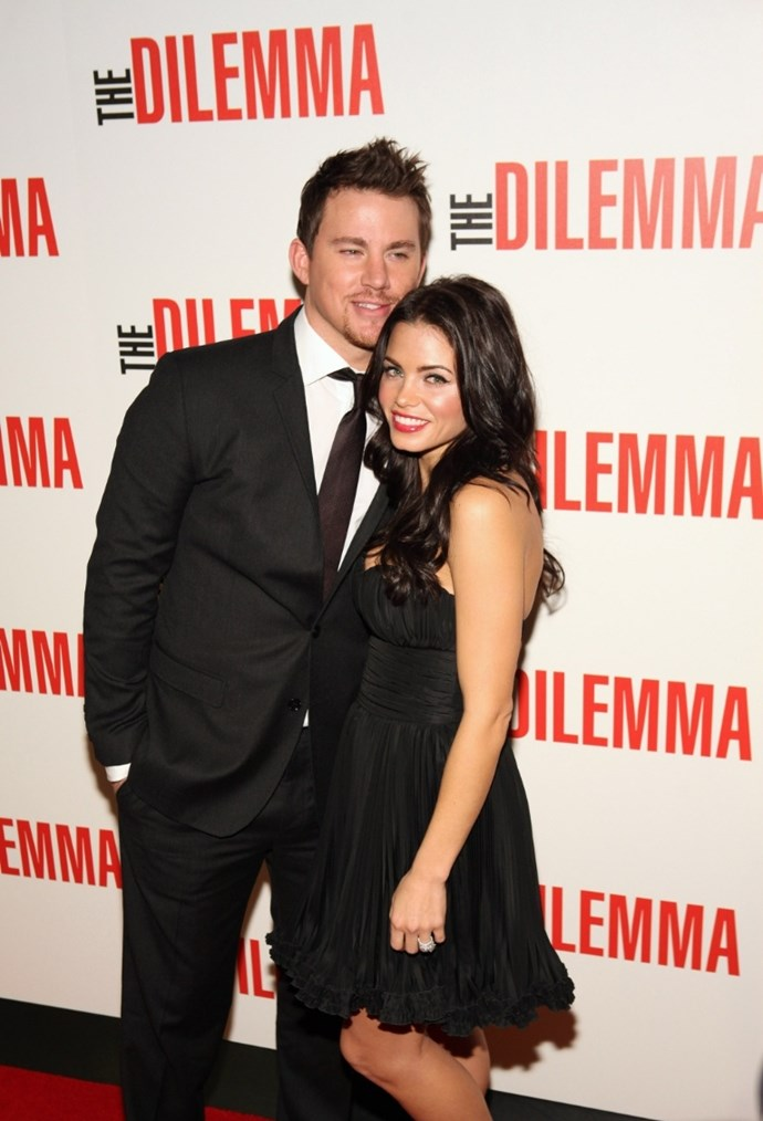 **January 2011**  At *The Dilemma* premiere on the red carpet.