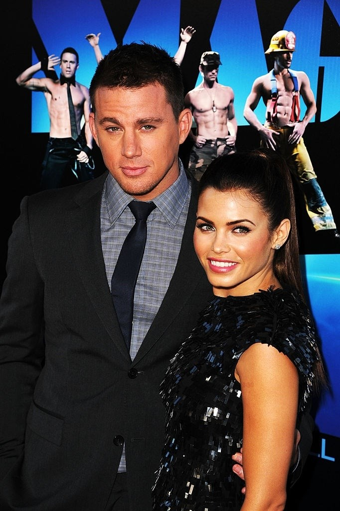 **June 2012**  Shall we just rename this whole thing 'every single time Channing and Jenna attended a film premiere together'? This time it's *Magic Mike*.
