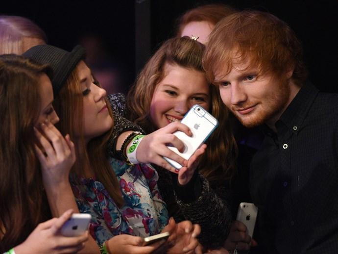 Ed Sheeran fans are **Sheerios.**