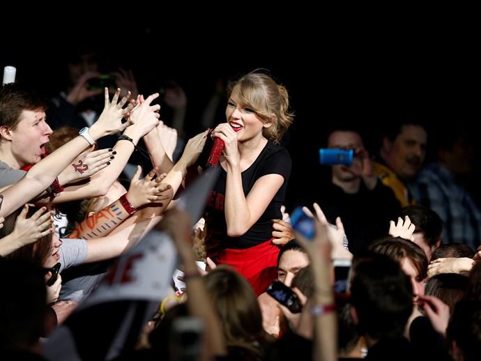 A fan of Taylor Swift is called a **Swiftie**!