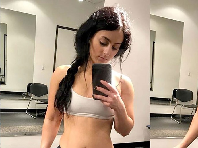 Fitness coach publishes her bad angle