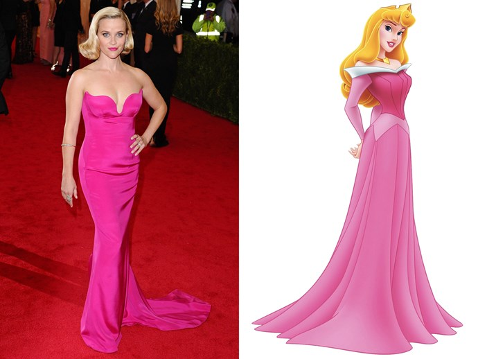 Reese Witherspoon = Sleeping Beauty