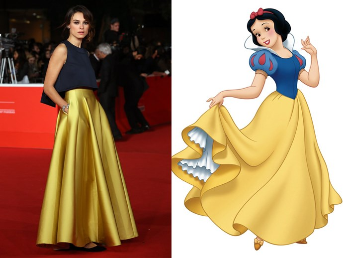 Kasia Smutniak = Snow White