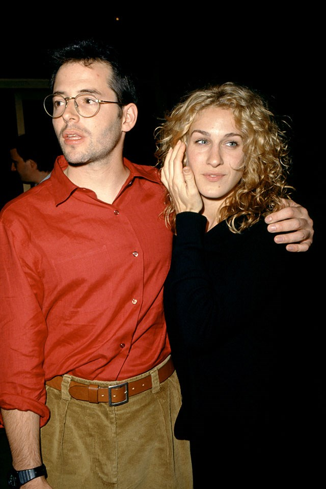 **Matthew Broderick and Sarah Jessica Parker**  In L.A. in 1993.
