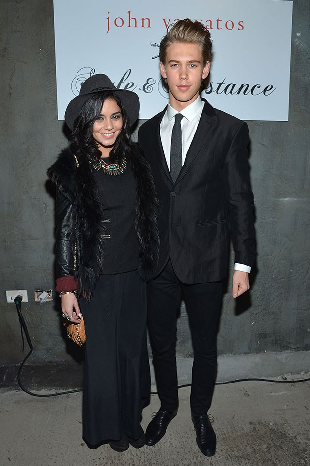 **Vanessa Hudgens and Austin Butler**  At a John Varvatos event in February 2013.