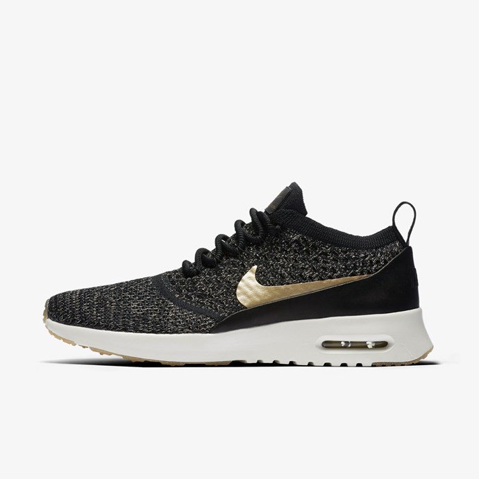 Two words: super fly. Air Max Thea Ultra Flyknit Metallic, $260, [Nike](http://store.nike.com/au/en_gb/pd/air-max-thea-ultra-flyknit-metallic-shoe/pid-11275067/pgid-11859372)