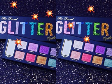 Too Faced's new glitter eyeshadow palette is actually ridic