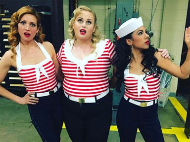 People are really, really mad about Rebel Wilson's costume in this 'Pitch Perfect 3' photo