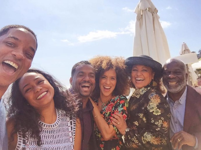 **The Fresh Prince of Bel-Air**  And here's a brighter, selfie version from Will Smith's Facebook page.