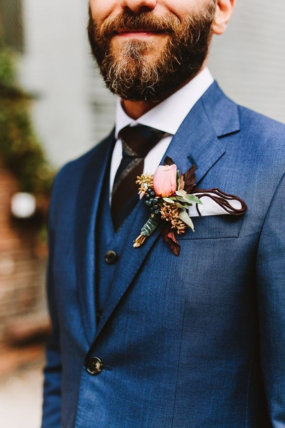 "**8. Grooms In Bright Blue Suits**   Via [Pinterest](https://au.pinterest.com/pin/535506211928639803/|target=""_blank""