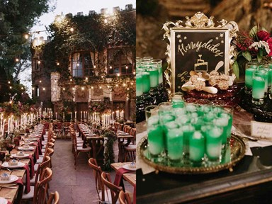 Is this the most magical Harry Potter-themed wedding yet?