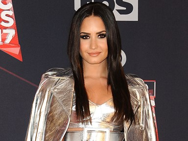 Demi Lovato says the secret to being happy involves carbs