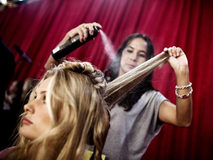 Hair protection spray