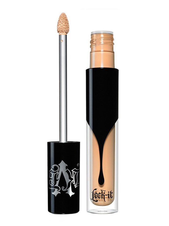 "**The top seller on Sephora.com.au**  Kat Von D Lock-It Concealer Creme, $37, at [Sephora](https://www.sephora.com.au/products/kat-von-d-lock-it-concealer-creme/v/light-7-fair-buttercream-with-warm-undertone|target=""_blank""