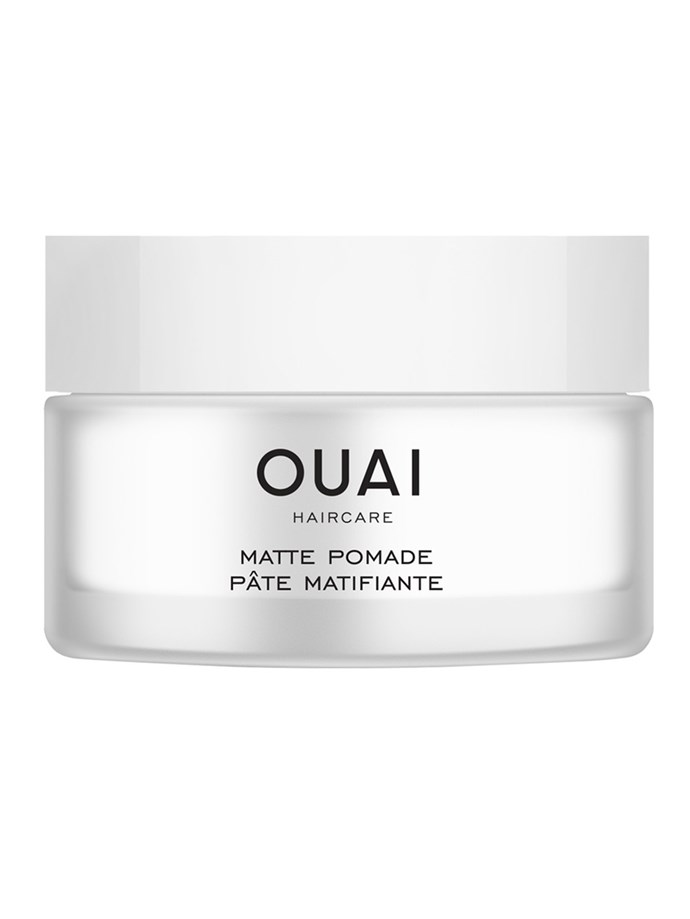 "The Ouai Matte Pomade, $36, at [Sephora](https://www.sephora.com.au/products/ouai-matte-pomade|target=""_blank""
