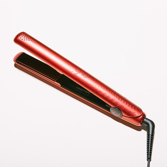 "Ghd V Ruby Sunset Styler, $270, at [Ghd](https://www.ghdhair.com/au/limited-edition-ghds/ghd-v-ruby-sunset-styler|target=""_blank""