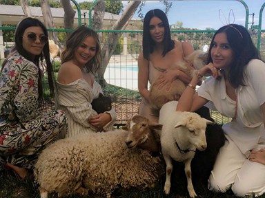 The Kardashians and Legends win the award for the cutest Easter, like, EVER