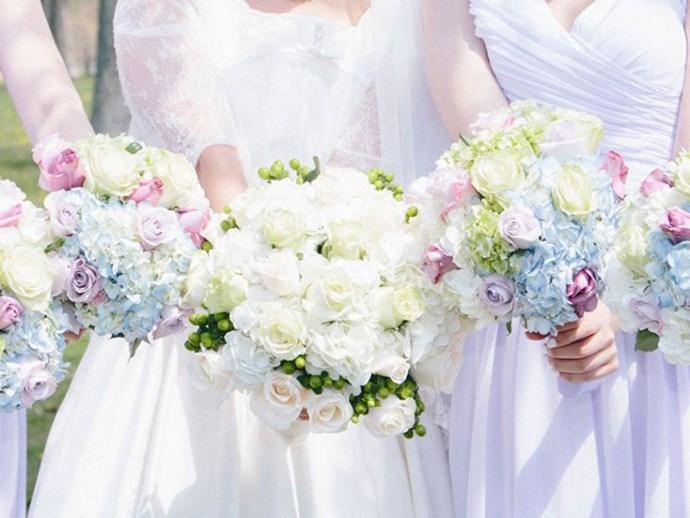 No bridal party wedding trend 2017