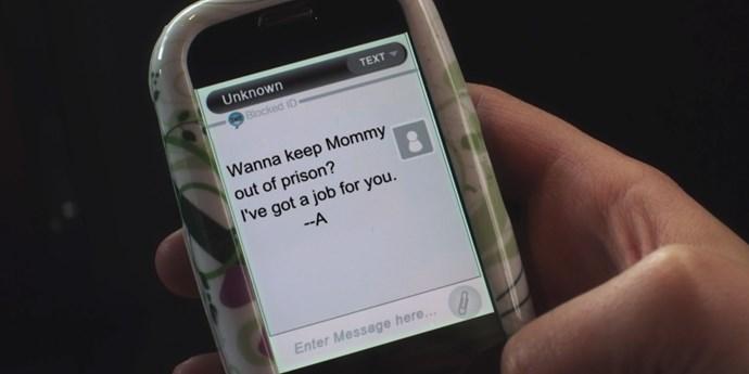 **Lucas heartbreak**  Two bullyings don't make a right, Mona.