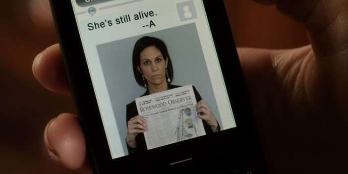 **Therapist capture**  The newspaper is a nice touch
