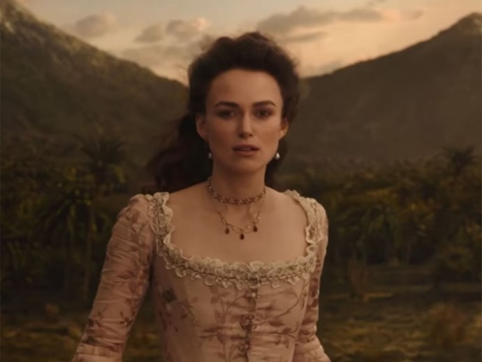 Keira Knightley Pirates of the Caribbean 5