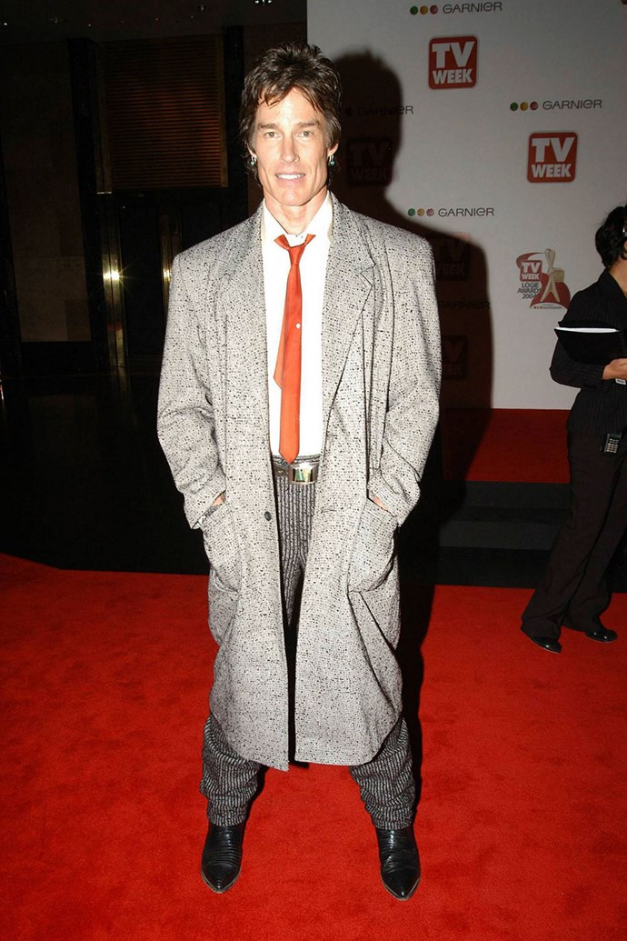 *The Bold and the Beautiful* actor **Ronn Moss** has actually been a few times, but here he is in 2004.