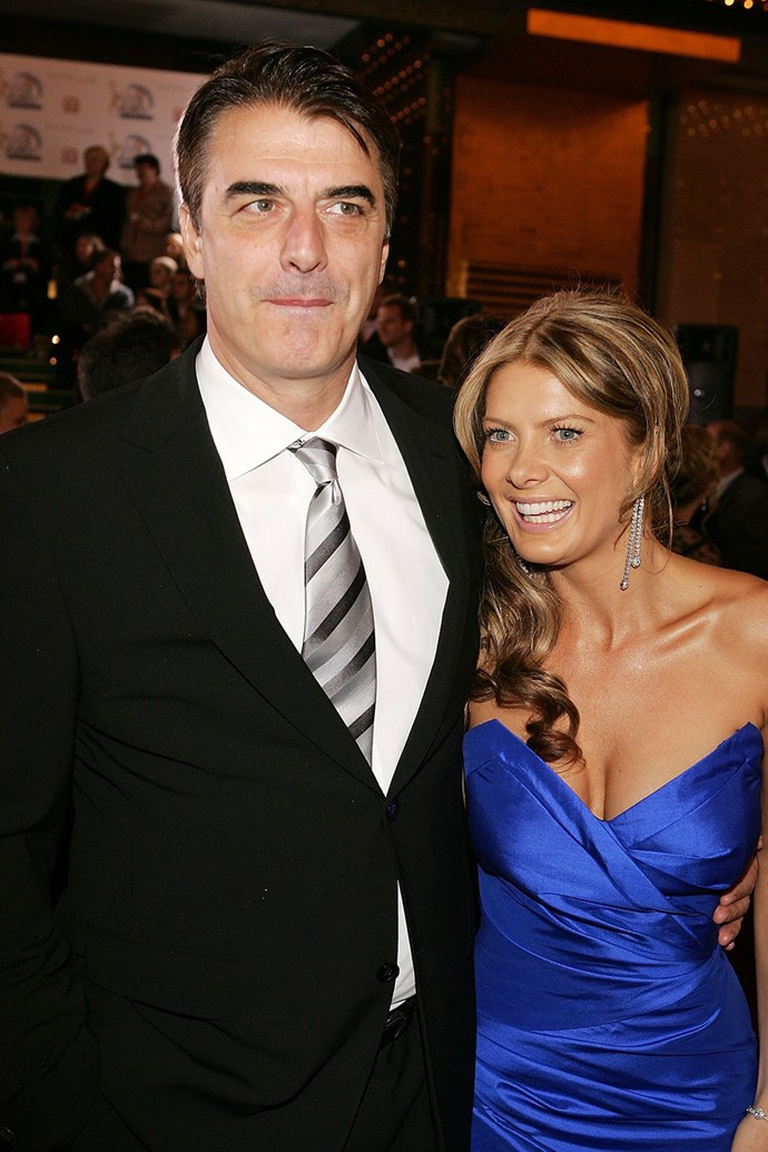 We don't blame Natalie Bassingthwaighte for wanting a photo with **Chris Noth** in 2006.